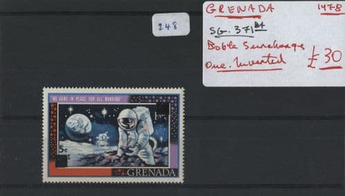 Grenada 1978 SG.371ba Double One M/M