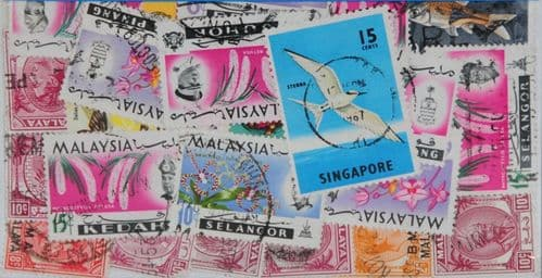 Malaysia 25 Stamps (L217)