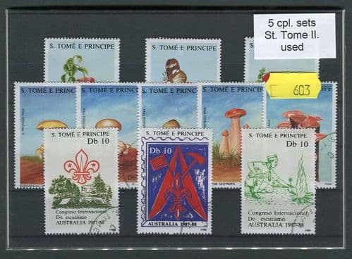 St Tome II 25 Stamps (603)