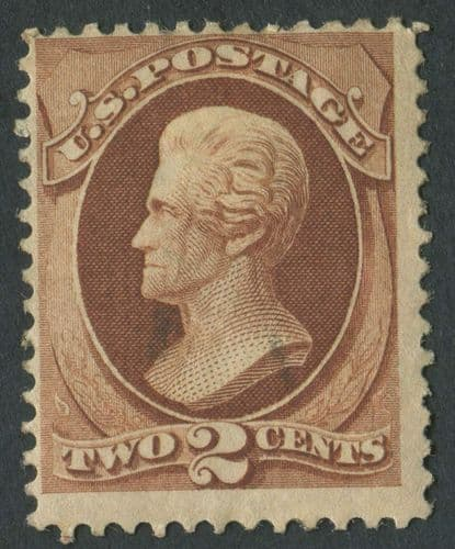 USA 1870-1 SG.137 2 cents Mounted Mint