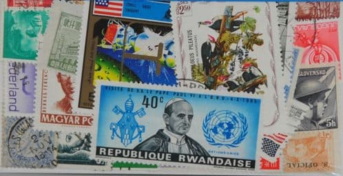 Worldwide 25 Stamps (L334)