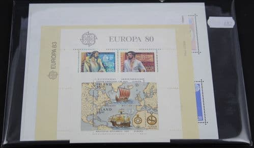 Worldwide 500 Stamps (Mint) (w/ sheets (diff. from 681 (682)))
