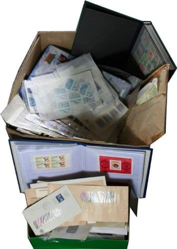 Worldwide Box of Stamps