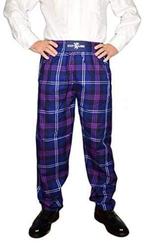 Gents Heritage of Scotland Tartan Casual Trousers