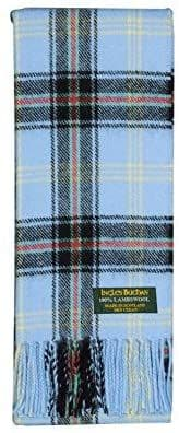 Pure Lambswool Bell of The Borders Tartan Scarf By Ingles Buchan of Scotland