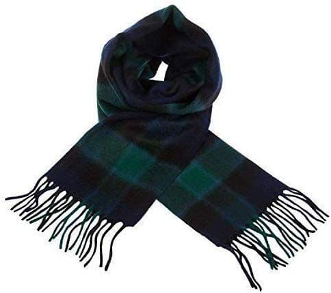 Pure Lambswool Graham of Menteith Tartan Scarf By Ingles Buchan of Scotland