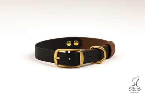 Black & Tan Waterproof Collar