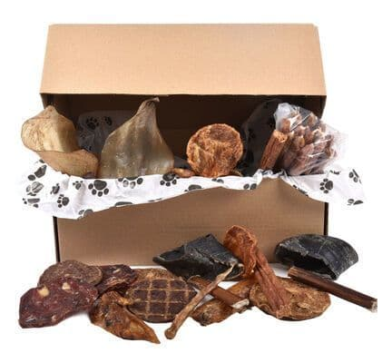 Chomp Box - Natural Dog Treats Selection