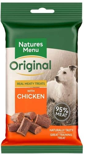 Nature's Menu Real Meaty Treats - Chicken