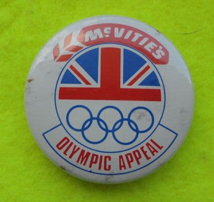 British Olympic Appeal Pin Badges (x2)