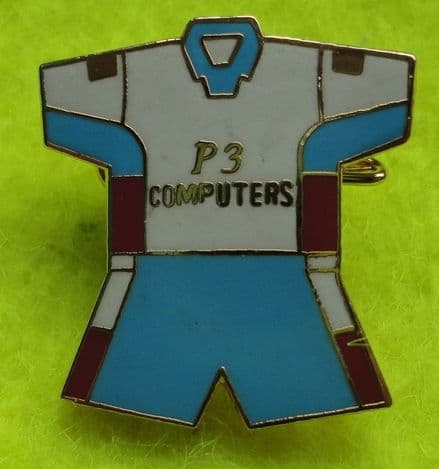 Burnley Away Kit (1999-2000) Enamel Pin Badge