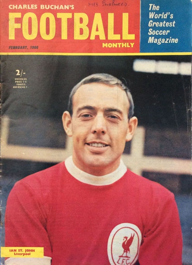 Charles Buchan's Football Monthly, No 174, 1966 - February