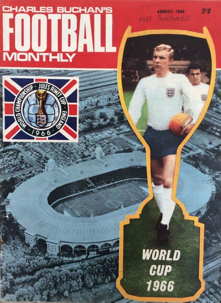 Charles Buchan's Football Monthly, No 180, 1966 - August