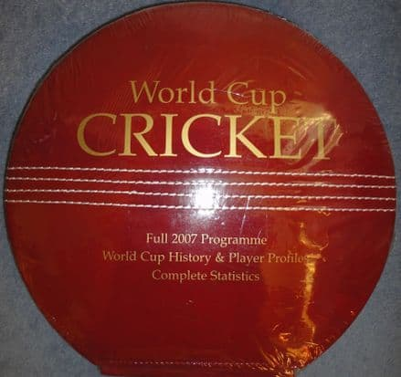 Cricket World Cup 2007: Tournament Programme