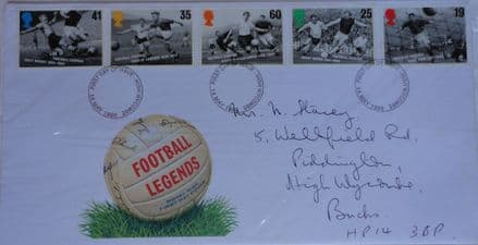 Football Legends, First Day Cover (1996)