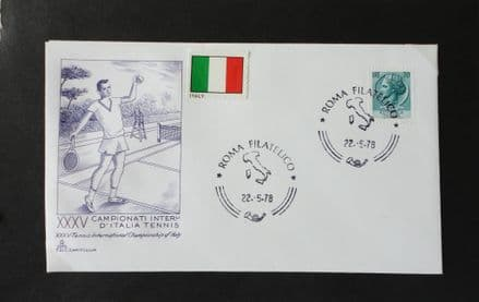Italian Open (1978) First Day Cover