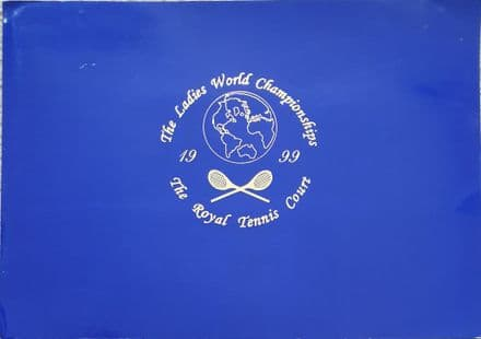 Ladies World Championships 1999 Programme (Real Tennis)