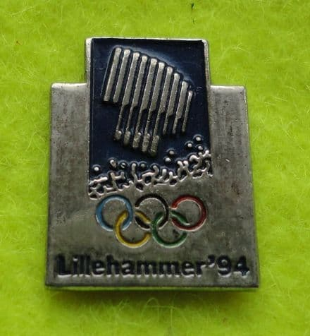 Lillehammer 1994 Winter Olympics Badge