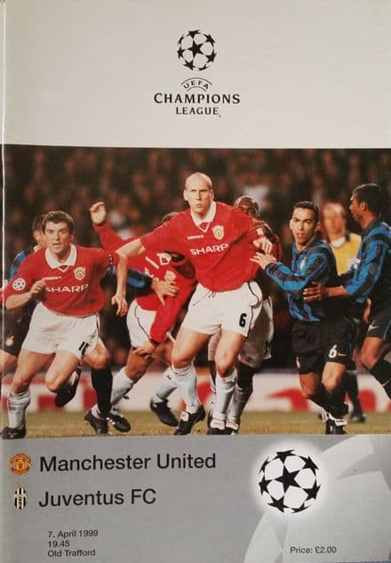 Manchester United v Juventus, Champions League SF (1999, 7th April)