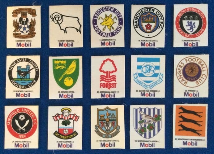 Mobil Club Crest Stickers, 15 of 30