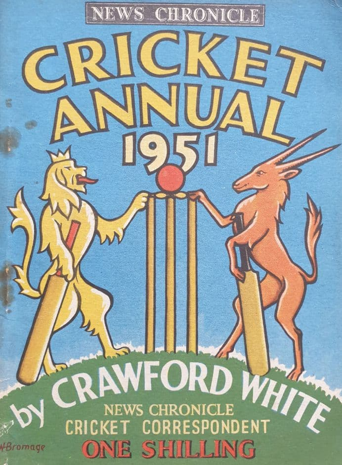 News Chronicle Cricket Annual 1951