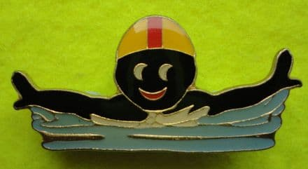 Robertson Golly Swimmer Enamel Pin Badge