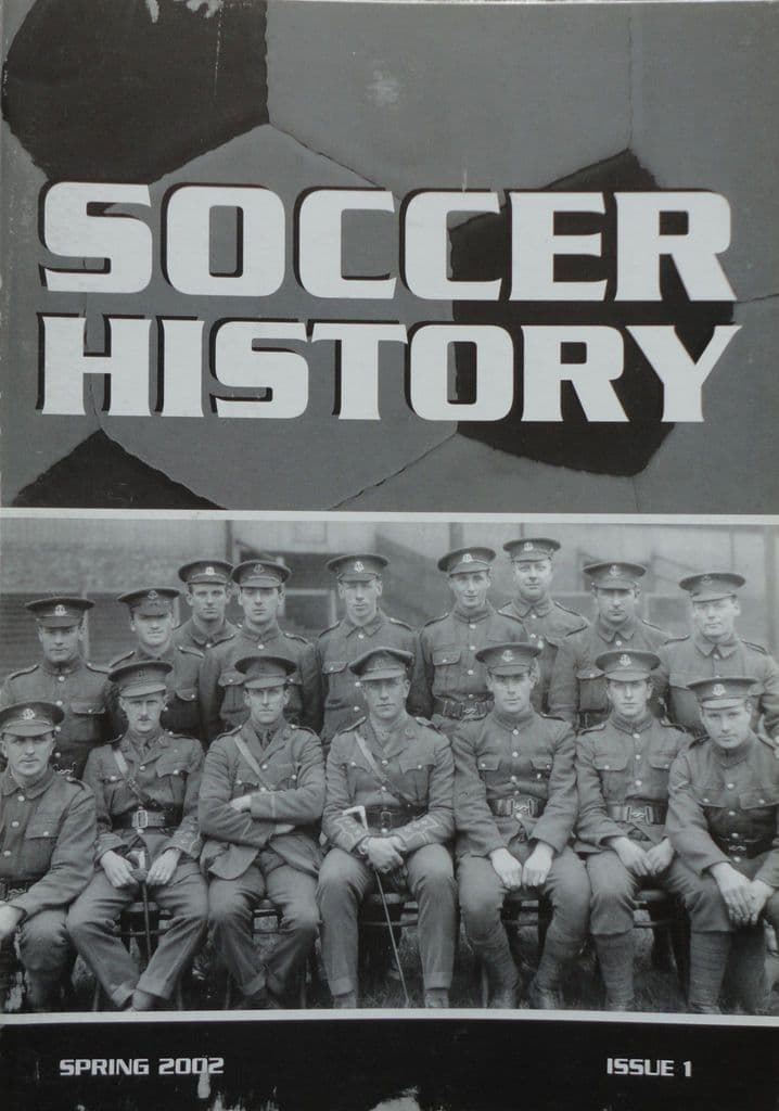 Soccer History, Issue 1 (Spring 2002)