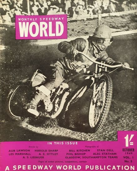 Speedway World Vol 1 No 5 (1949, Oct)