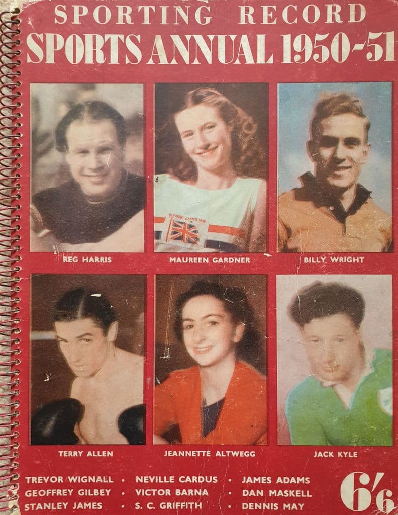 Sporting Record Sports Annual 1950-51