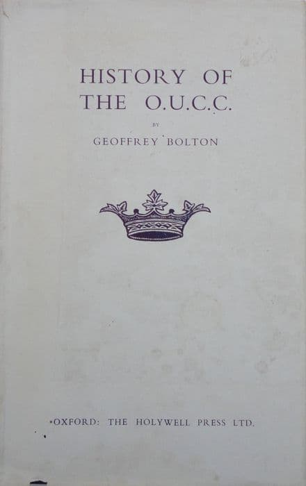 The History of the OUCC by Geoffrey Bolton