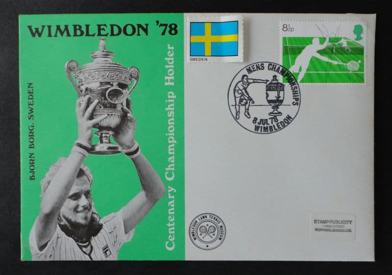 Wimbledon 78 (Borg) First Day Cover