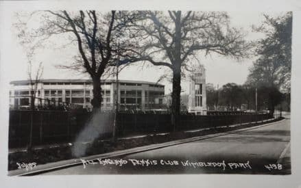 Wimbledon Grounds Post Card (Postally Used)