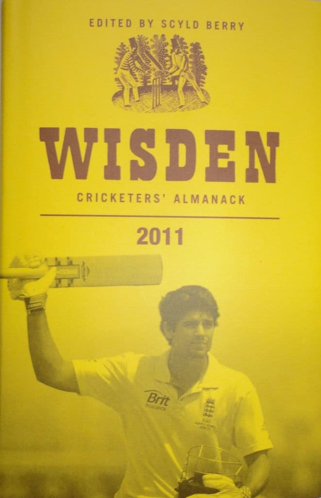Wisden (2011) 185th Edition ed by Mathew Engel (Hard Cover - Very Good Condition)