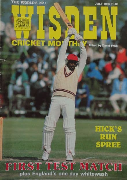 Wisden Cricket Monthly (1988, July)