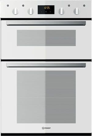 Indesit IDD6340WH Built in Double Oven White