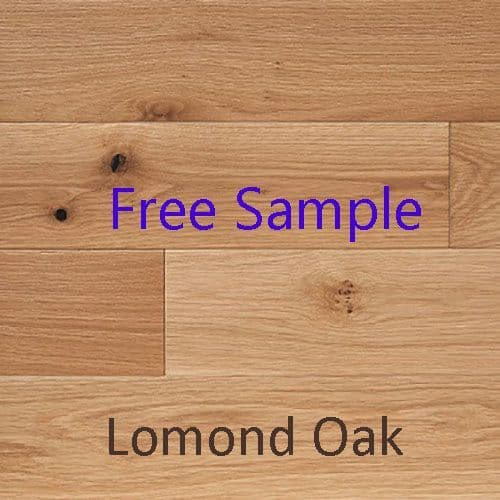 CALEDONIAN LOMOND NATURAL OAK ENGINEERED T&G BRUSHED FLOORING (price per 2.2m2 pack)