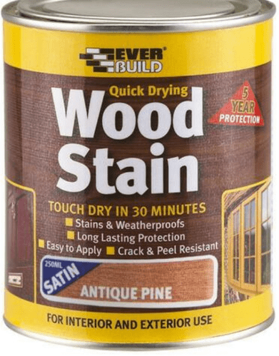 EVERBUILD Q/D WOOD STAIN ANTIQUE PINE 2.5LTR