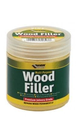 Multi Purpose Premium Joiners Grade Wood Filler 250ml Various Colours