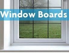 PVC Window Boards