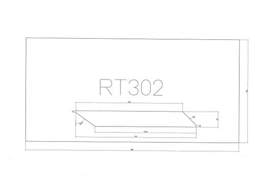 Standard Cladding Profile RT302 18 x 141/125mm - per linear metre