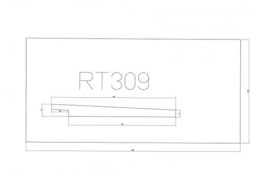 Standard Cladding Profile RT309 18 x 141/125mm- per linear metre