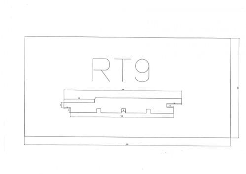 Standard Cladding Profile RT9 18 x 145/125mm- per linear metre