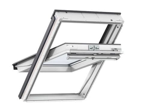 VELUX GGU 0070 White Polyurethane Centre Pivot Window