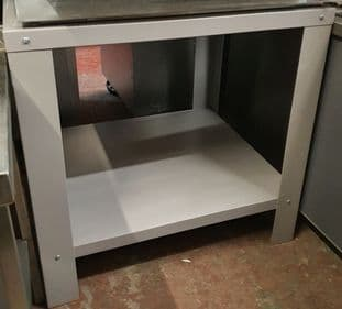 Pizza Oven Table Stand With Shelf