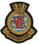 GLAMORGAN - Blazer Badge~OFFICIALLY LICENCED PRODUCT