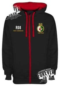 JH053 QE zippered Hoody OFFICIALLY LICENCED PRODUCT
