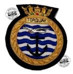 TORQUAY - Blazer Badge~OFFICIALLY LICENCED PRODUCT