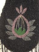 1910 - 1925 Beaded Evening Purse with Fringes