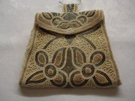 1930's Art Deco Evening Bag - this one is gorgeous and unusually large in size! (Sold)