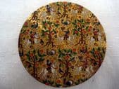 1950's Le Rage Compact with Medieval Scenes of Hawking & Riding through a Forest (SOLD)